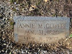 Annie <i>McNeil</i> Oliver