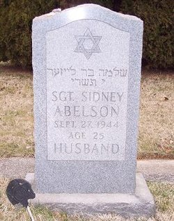 Sgt Sidney Abelson