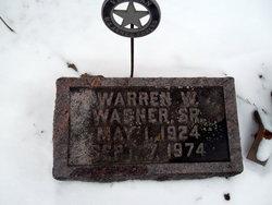Warren W Wagner, Sr