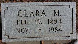 Clara M Getz
