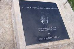 Mildred <i>Vanterpool</i> Chinnery