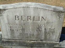 Missouri R <i>Lewis</i> Berlin