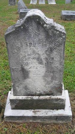 Mary Ann <i>Gussler</i> Barner