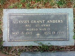 PFC Ulysses <i>Grant</i> Anders