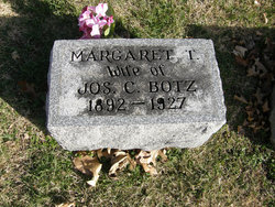 Margaret T <i>Schrakler</i> Botz