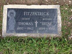 Irene <i>Cunningham</i> Fitzpatrick