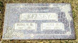 Alice Melva <i>Roberts</i> Kelsey