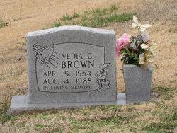 Vedia G Brown