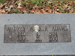 Audrey Walker Adams