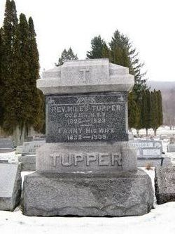 Rev Miles F Tupper