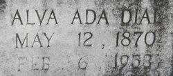 Alva Ada <i>Dial</i> Alexander