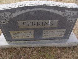 Fannie Mae Gertrude <i>Sartin</i> Perkins