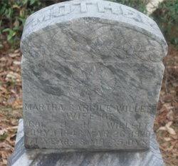 Martha <i>Cargile</i> Willett