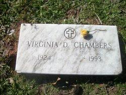 Virginia Daphine <i>Cross</i> Chambers