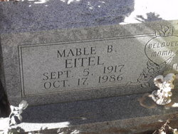 Mable B Eitel