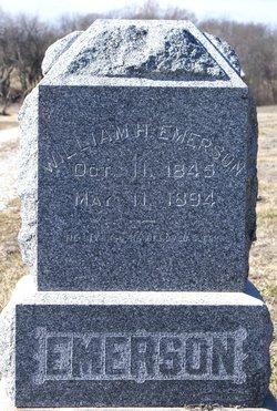 Pvt William H. Emerson