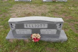 Alma Louise <i>Davis</i> Elliott