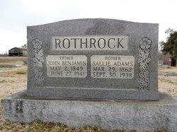 John Benjamin Rothrock, Sr