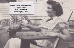 Marion Louise <i>Greene</i> Elmer