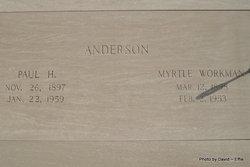 Paul H Anderson