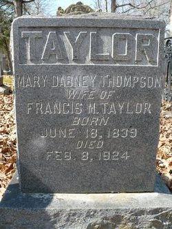 Mary Dabney <i>Thompson</i> Taylor