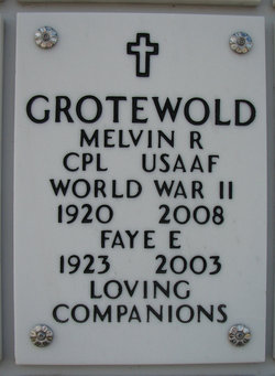 Melvin Russell Grotewold