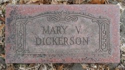 Mary Victoria <i>Vessey</i> Dickerson