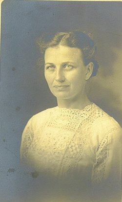 Frances Matilda Fanny <i>Witter</i> Alspaugh