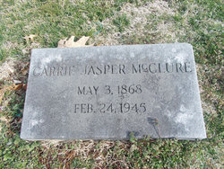 Carrie <i>Jasper</i> McClure