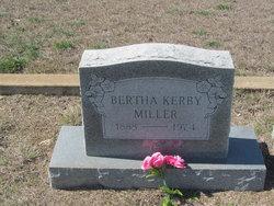 Bertha Earl <i>Kerby</i> Miller