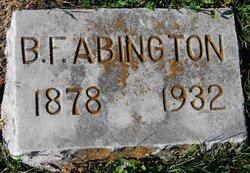 Benjiman Franklin Abington