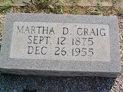 Martha A. <i>Dunson</i> Craig