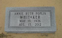 Annie Ruth <i>Poplin</i> Whitaker