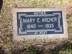 Mary E Archer