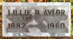 Lillie <i>Bell</i> Aylor