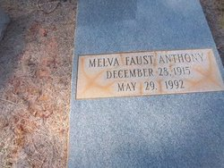 Melva <i>Faust</i> Anthony