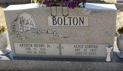 Arthur Henry Bolton, Jr.