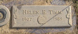 Helen Emma <i>Patrie</i> Timm