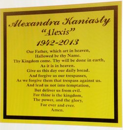 Alexandra Alexis <i>Theodoru</i> Kaniasty
