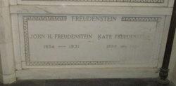 Catherine <i>Becker</i> Freudenstein