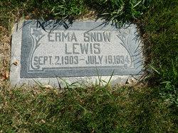 Erma <i>Snow</i> Lewis