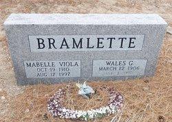 Wales G Bramlette