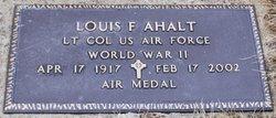 Louis F Ahalt, Sr