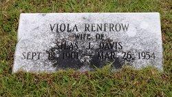 Viola <i>Renfrow</i> Davis