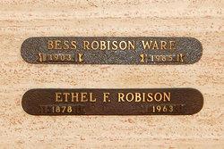 Ethel Florence <i>Griffiths</i> Robison