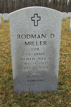 Col Rodman D Miller