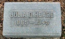 Julia Inez <i>Dyer</i> Heard