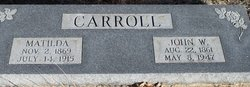 Matilda Carolyn <i>Ryan</i> Carroll