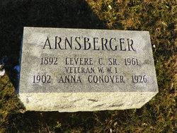 Anna <i>Conover</i> Arnsberger