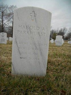 Harold A Parkhurst